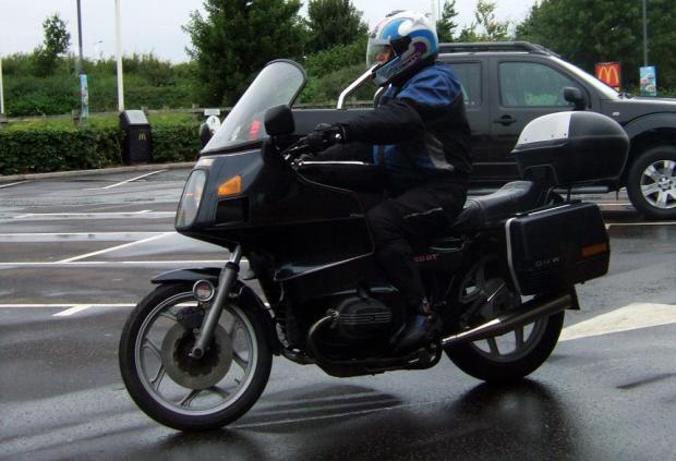 Graham on his R80RT
