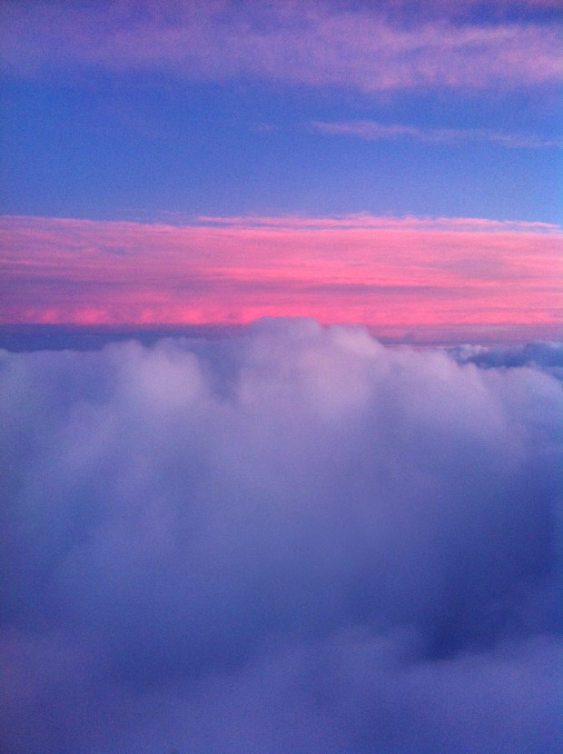Capture the Colour - Red - Sunset Above the Clouds