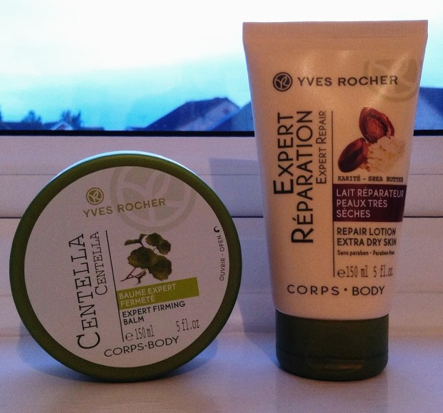 Yves Rocher Expert Firming Balm and Repair Lotion