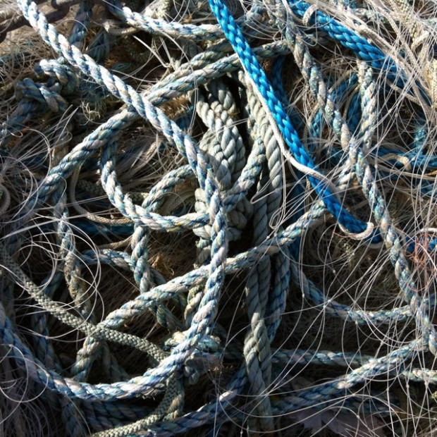 Rope at Whitstable Harbour - Zoe Homes - iPhone4