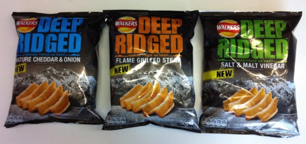 Walkers Deep Ridged Crisps