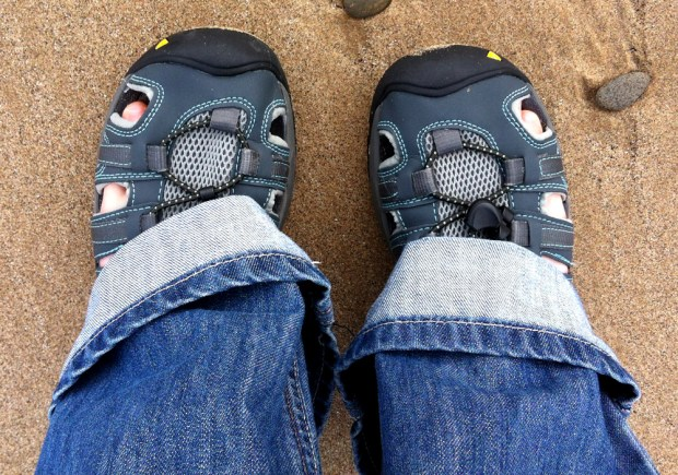 KEEN Turia Sandals with Jeans