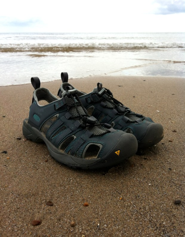 KEEN Turia Sandals on the Beach
