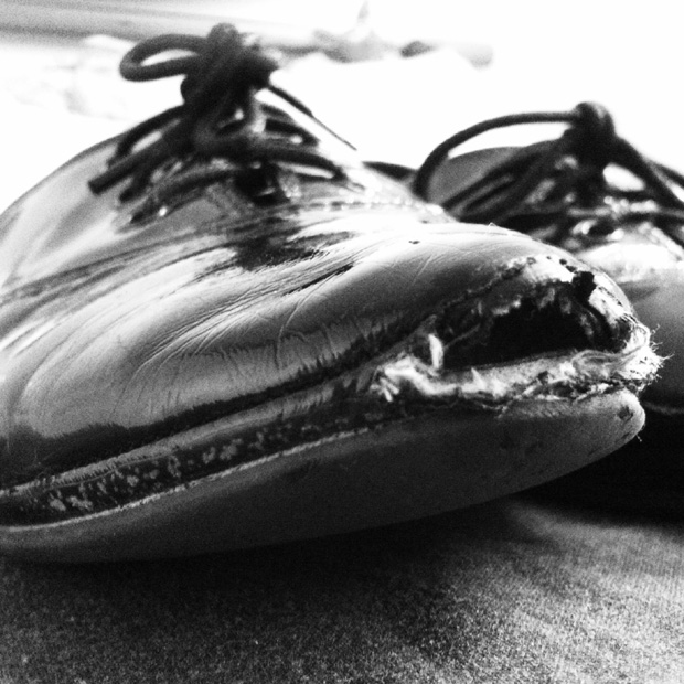 Exhibition Shot - Worn Out Shoes