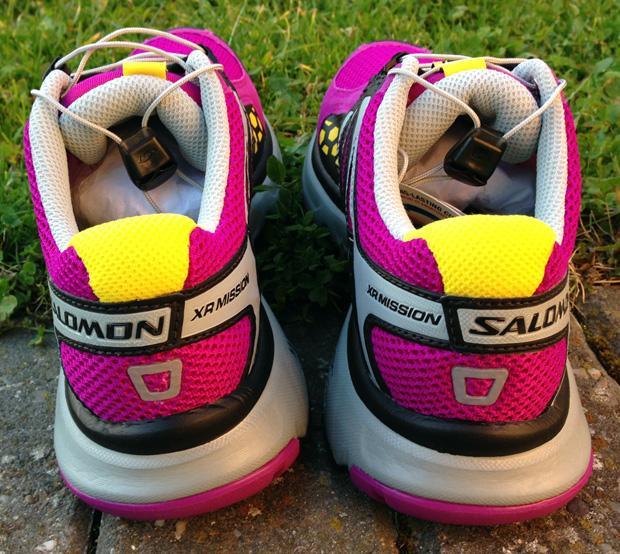 Salomon Womens XR Mission Shoes - Very Purple Black Light Onyx