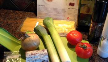 Wild Boar Ragu Ingredients