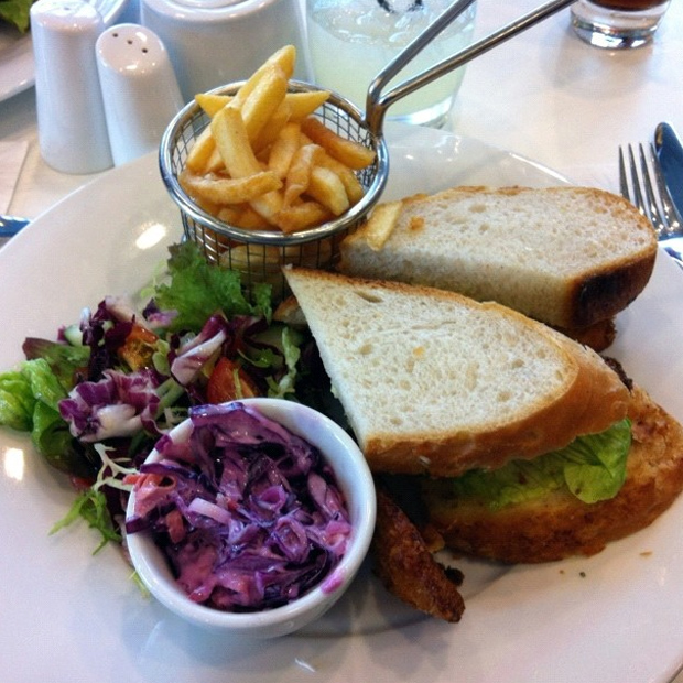 Fish Finger Sandwhich from the Doubletree Lincoln