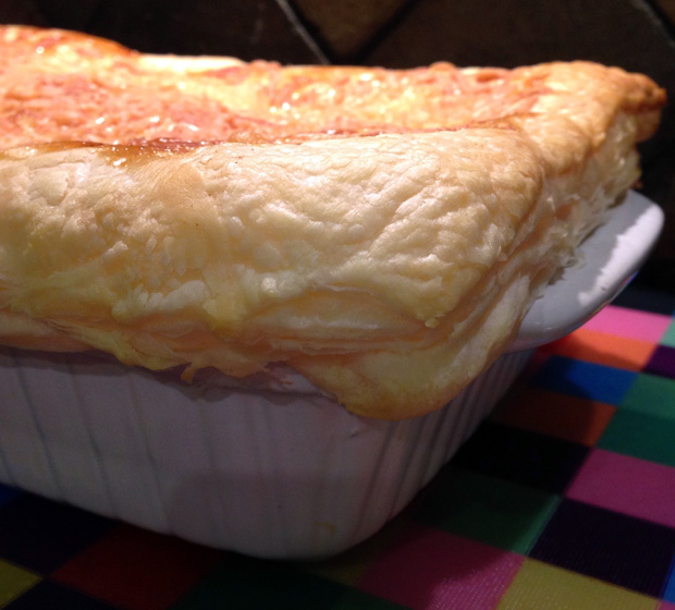 Turkey and Gammon Pie