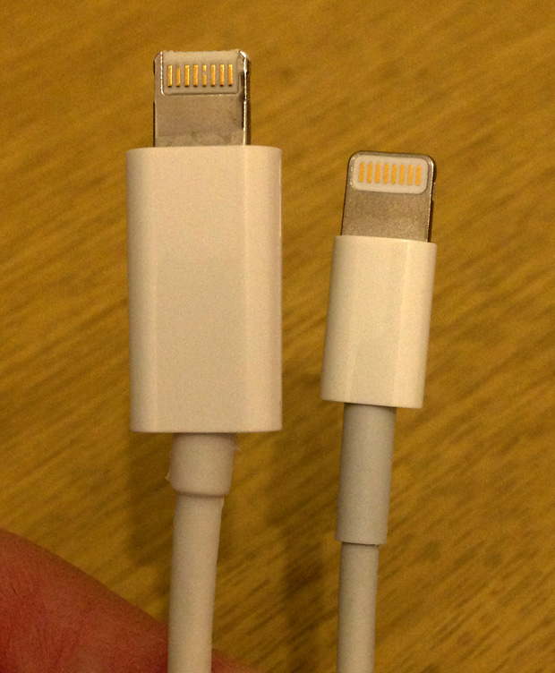 Apple vs Mobile Fun Lightning to USB Cable