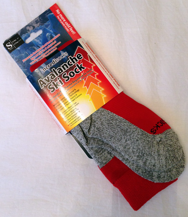 Avalanche Ski Sock by Incredisocks