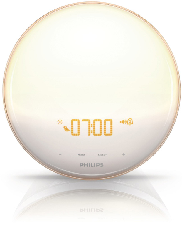 Philips Wake Up Light (Photo from Philips Website)