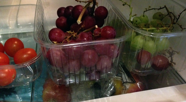 Inside my Fridge - Fruit and Salad