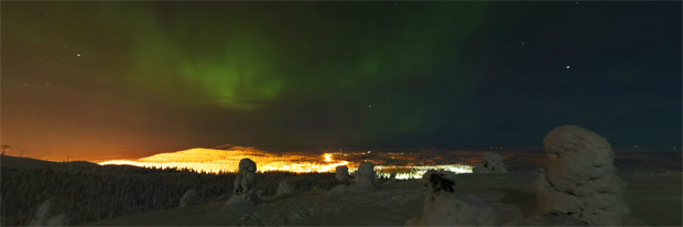 Seeing the Northern Lights