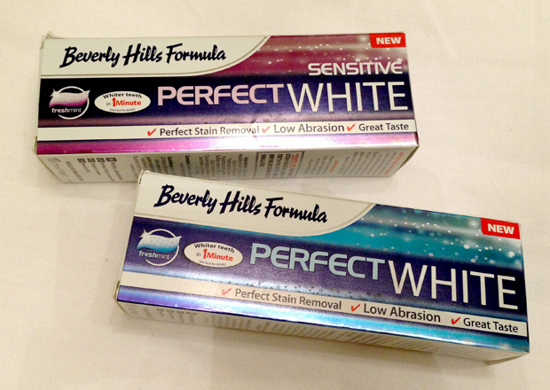 Beverley Hills Formula Perfect White Toothpaste