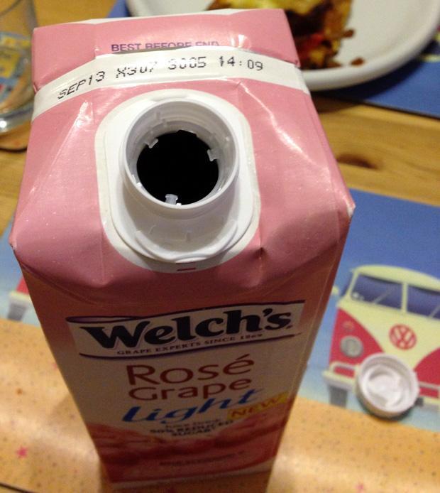 Welch's Grape Juice Carton
