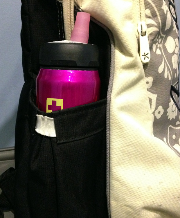 My SIGG Bottle in my Rucksack
