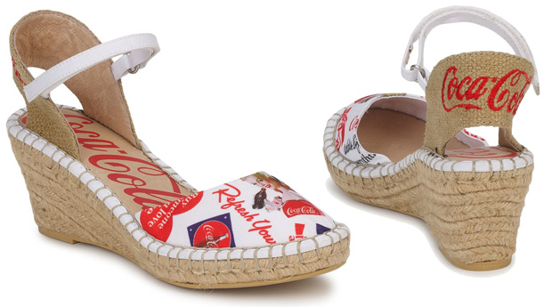 Wedge Sandals by Coca Cola