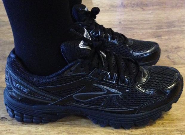 Wearing my Brooks Lady Adrenaline GTS 13 Running Shoes