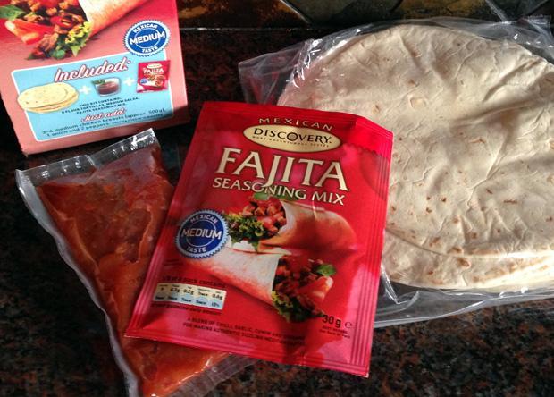 Discovery Foods Fajita Kit
