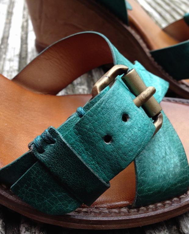Air Step Solaris Wedge Sandals