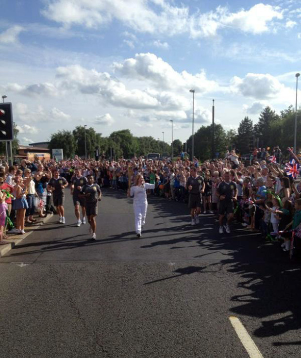 Carrying the Torch - BBC Lincolnshire