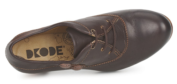 Dkode Mysie Chocolate Brown Shoes