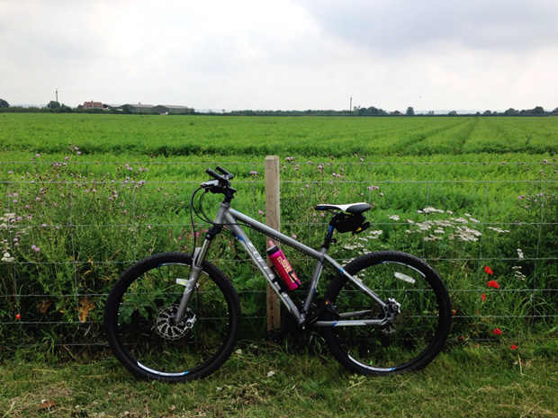 My Bike at Bassingham on Lincs Leafy Lanes