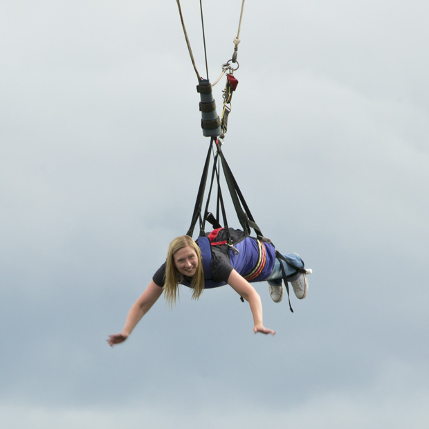 Me on the Sky Coaster Kissimmee