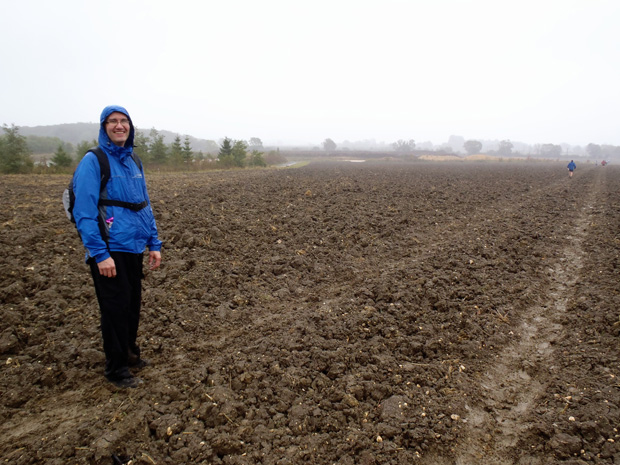 Mark and a Muddy Field
