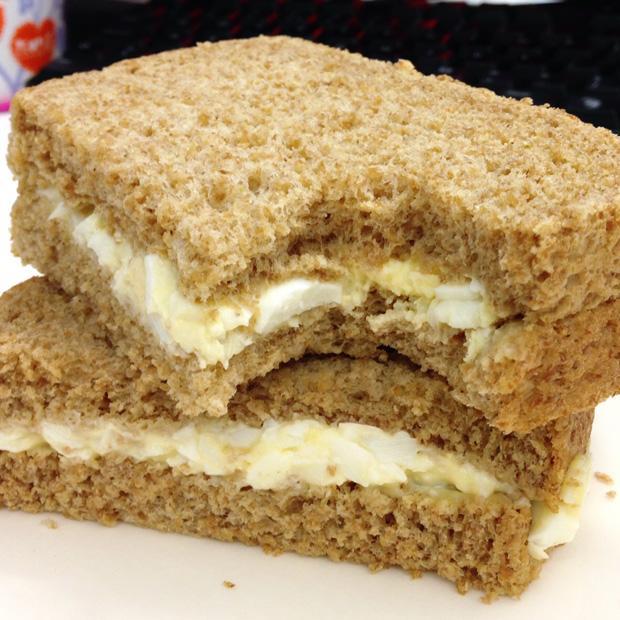 Food Glorious Food - Egg Sandwich
