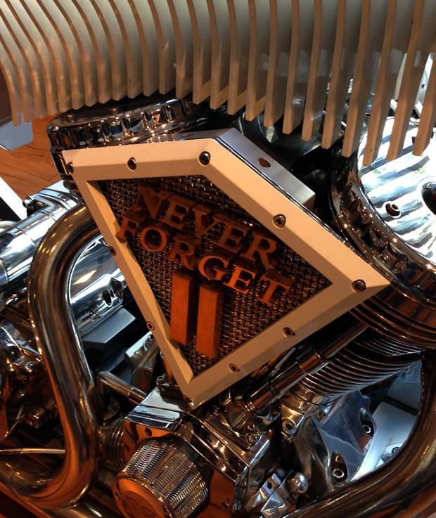911 Memorial Bike by Paul Junior Designs