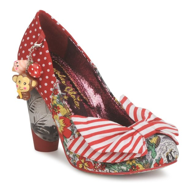 Trinklettina in Red by Irregular Choice