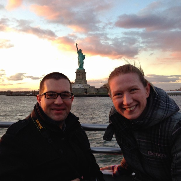 LincsGeek and Splodz in New York
