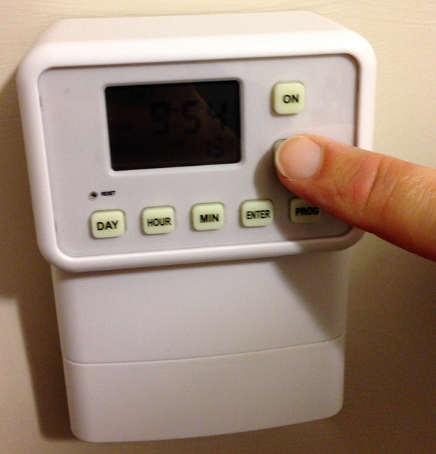 Light Switch Timer - Over-riding