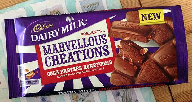 Cadbury's Marvellous Creations Cola Pretzel Honeycomb