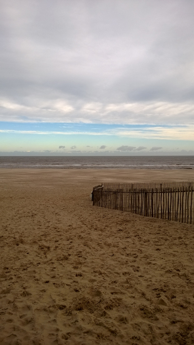 Mablethorpe Beach taken on the Nokia Lumia 925