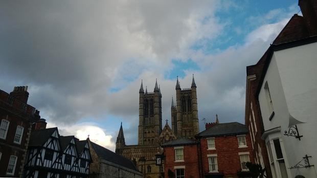 Lincoln Cathedral taken on a Nokia Lumia 925