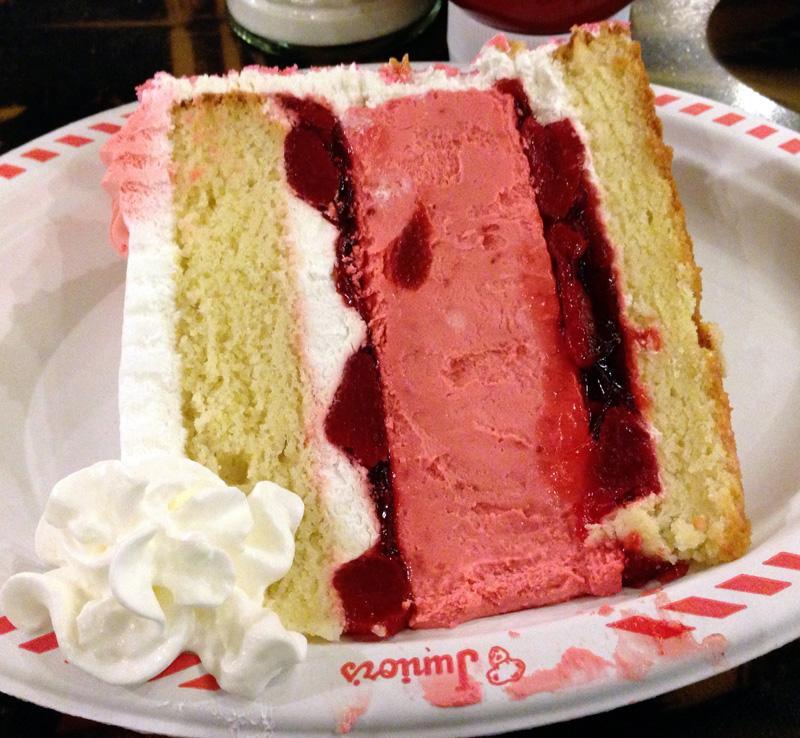 Cheesecake at Junior's