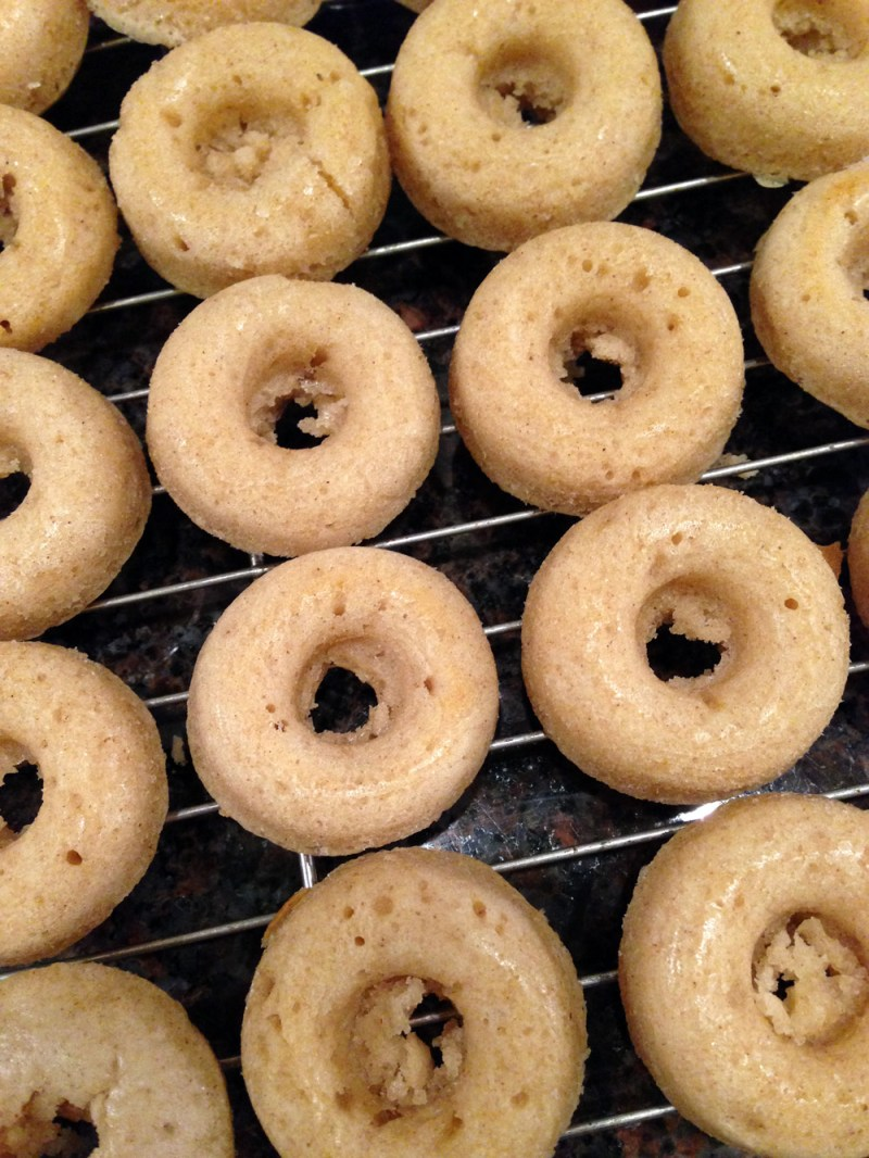 Making Mini Doughnuts