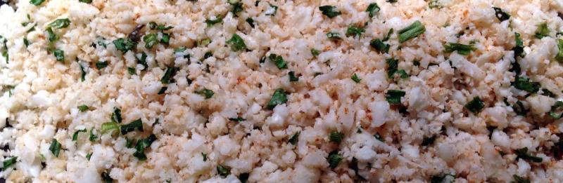 Cooking Cauliflower Rice - Caulirice