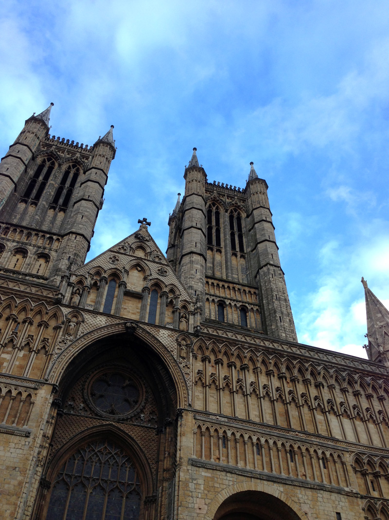 07 May - Lincoln Cathedral in the Evening Sunshine
