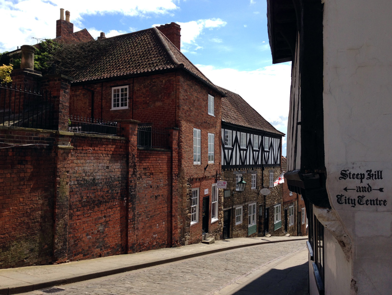 12 May - Steep Hill, Lincoln