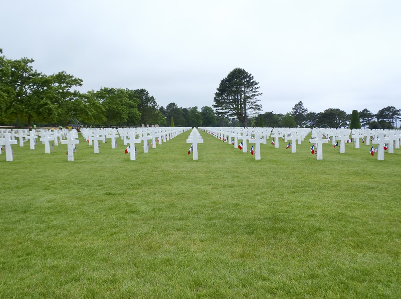 American Cemetery, Omaha Beach