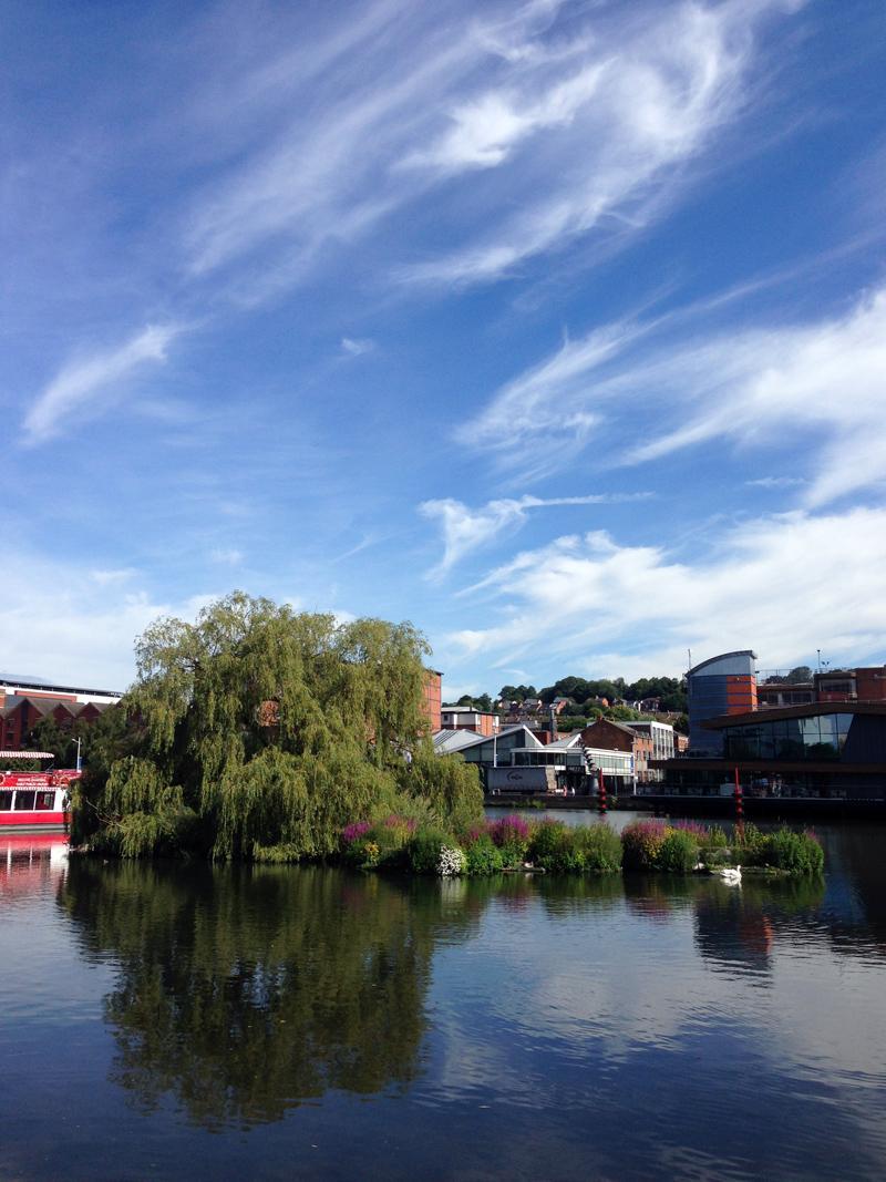 16 July - Big skies over Lincoln's Brayford Pool