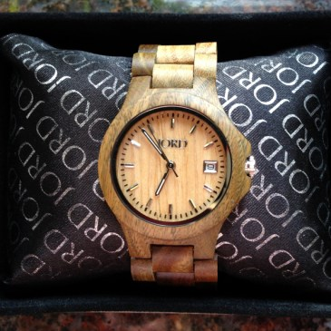 Giveaway: Ely Series Wood Watch by JORD