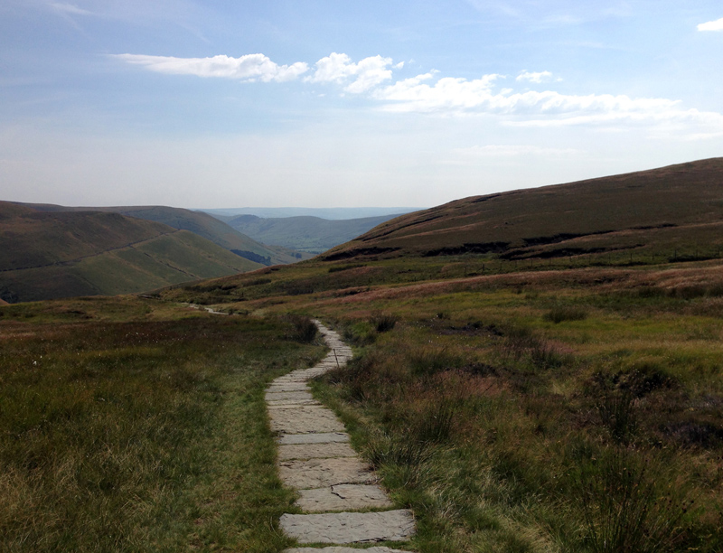 Looking back towards Hope Valley