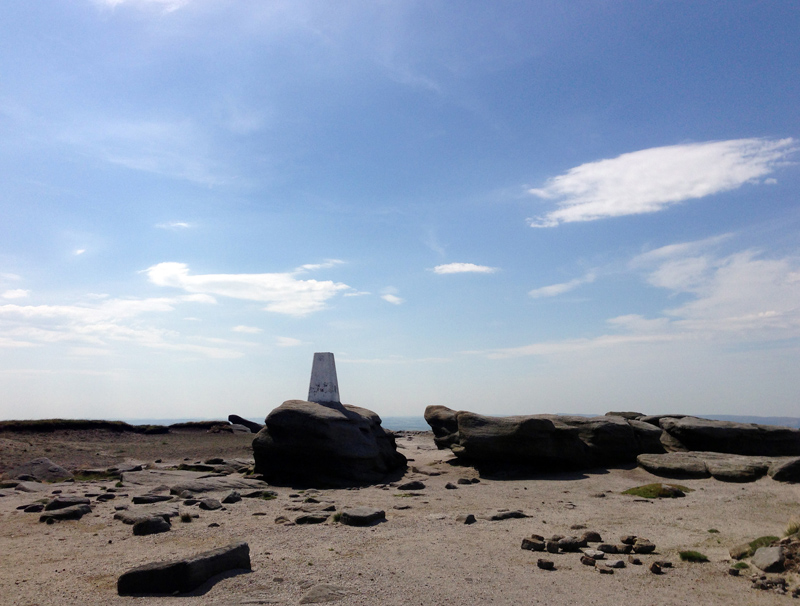 Kinder Scout Trig Point