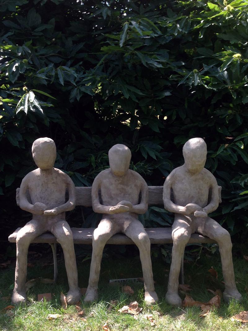 09 August - Mobile Phone Sculpture at Doddington Hall