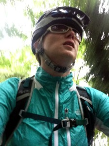 Wearing the The North Face Women's GTD Jacket