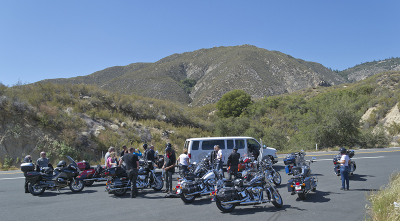 The EagleRider Tour Group in Idyllwild, California